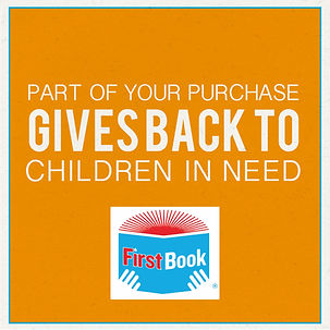 First Book charity and donation for students in need of books
