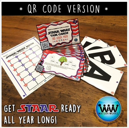 QR Version - STAAR Wars Set 1