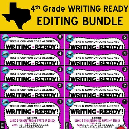 4th Grade - Writing Ready® Editing Bundle