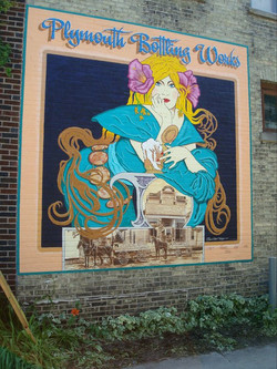 Plymouth Wisconsin Mural