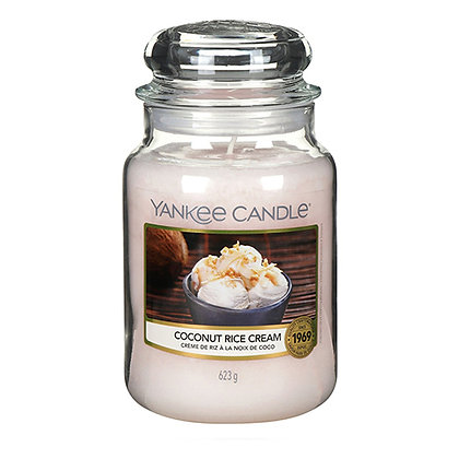 YANKEE CANDLE COCONUT RICE LARGE JAR CANDLE