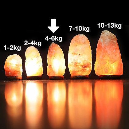 4-6KG HIMALAYAN SALT LAMP