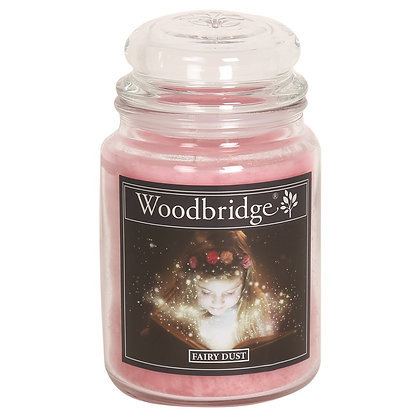 WOODBRIDGE FAIRY DUST LARGE SCENTED CANDLE JAR