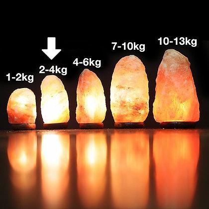 2-4KG HIMALAYAN SALT LAMP