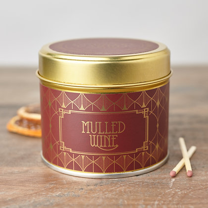 HAPPY HOUR MULLED WINE TIN CANDLE
