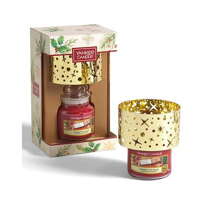 Yankee Candle 1 Small Jar Candle & Shade Gift Set