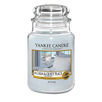 YANKEE CANDLE A CALM & QUIET PLACE LARGE JAR CANDLE