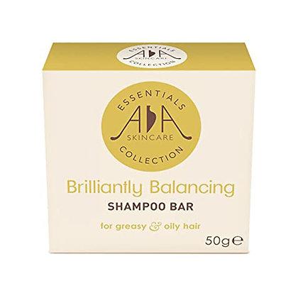 AA SKINCARE BRILLIANTLY BALANCING SHAMPOO BAR (PLASTIC FREE)