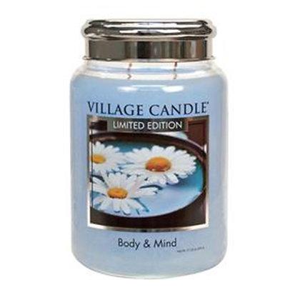 VILLAGE CANDLE BODY & MIND LARGE JAR CANDLE