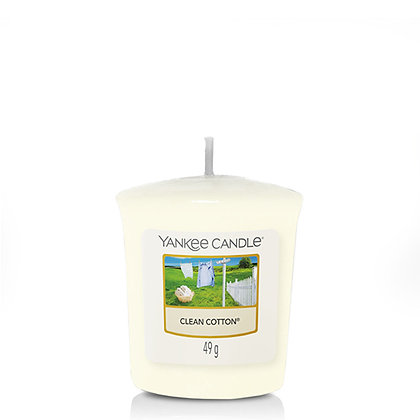 YANKEE CANDLE CLEAN COTTON VOTIVE CANDLE
