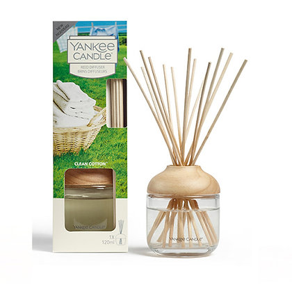 YANKEE CANDLE CLEAN COTTON SIGNATURE REED DIFFUSER