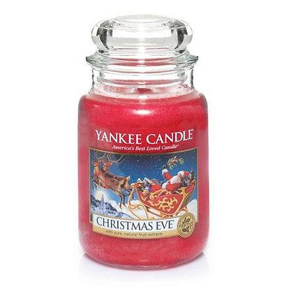 YANKEE CANDLE CHRISTMAS EVE LARGE JAR CANDLE