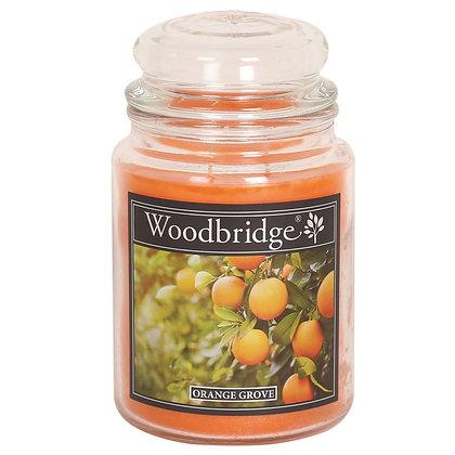 WOODBRIDGE ORANGE GROVE LARGE SCENTED CANDLE JAR