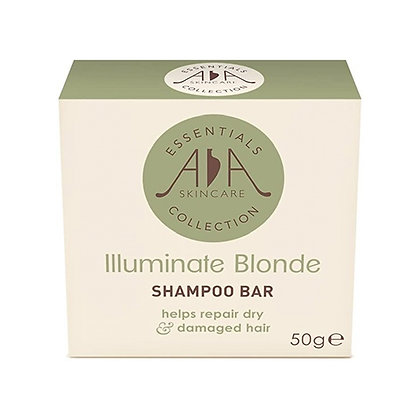AA SKINCARE ILLUMINATE BLONDE SHAMPOO BAR (PLASTIC FREE)