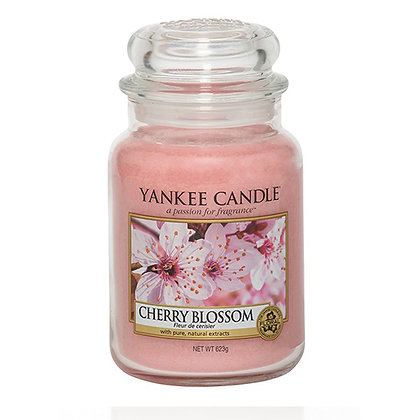 YANKEE CANDLE CHERRY BLOSSOM LARGE JAR CANDLE