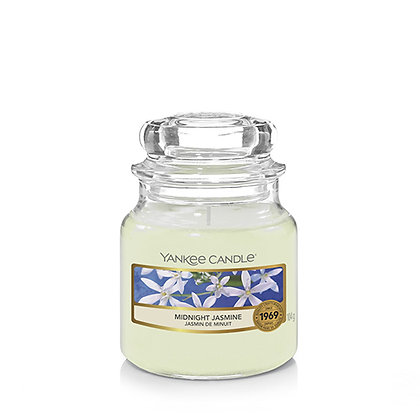 YANKEE CANDLE MIDNIGHT JASMINE SMALL JAR CANDLE