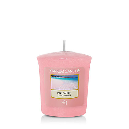 YANKEE CANDLE PINK SANDS VOTIVE CANDLE