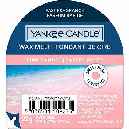 YANKEE CANDLE PINK SANDS WAX MELT