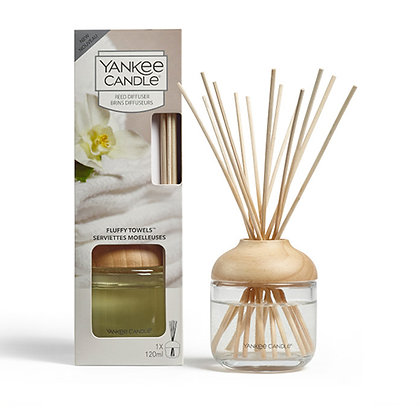 YANKEE CANDLE FLUFFY TOWELS SIGNATURE REED DIFFUSER