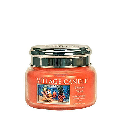 VILLAGE CANDLE SUMMER VIBES SMALL JAR CANDLE