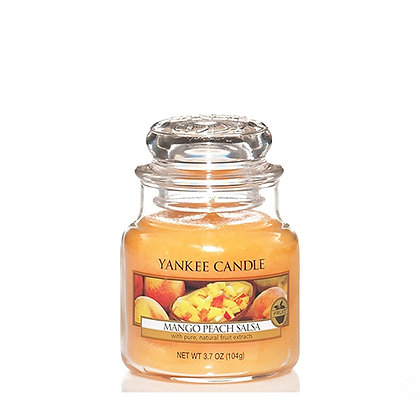 YANKEE CANDLE MANGO PEACH SALSA SMALL JAR CANDLE