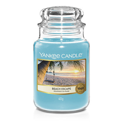 YANKEE CANDLE BEACH ESCAPE LARGE JAR CANDLE