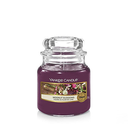 YANKEE CANDLE MOONLIT BLOSSOMS SMALL JAR CANDLE