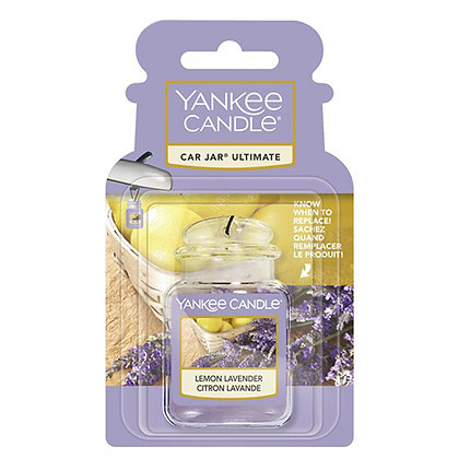 YANKEE CANDLE LEMON LAVENDER ULTIMATE CAR JAR