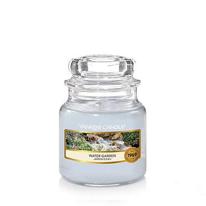 YANKEE CANDLE WATER GARDEN SMALL JAR CANDLE