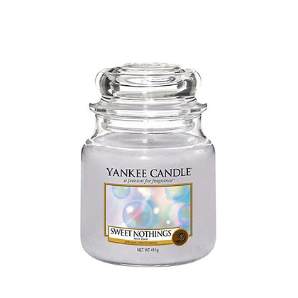 YANKEE CANDLE SWEET NOTHINGS MEDIUM JAR CANDLE