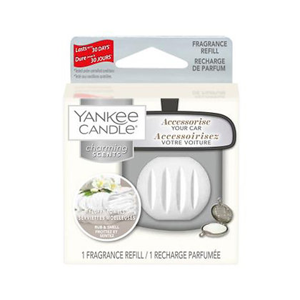 YANKEE CANDLE FLUFFY TOWELS CHARMING SCENT REFILL