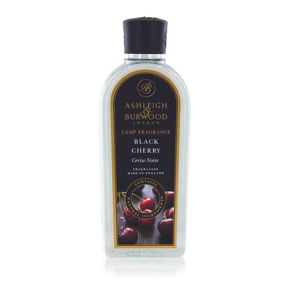 ASHLEIGH & BURWOOD BLACK CHERRY 250ML LAMP FRAGRANCE