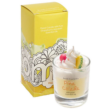 BOMB COSMETICS PINA COLADA WHIP IT UP CANDLE