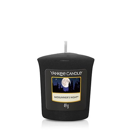 YANKEE CANDLE MIDSUMMERS NIGHT VOTIVE CANDLE