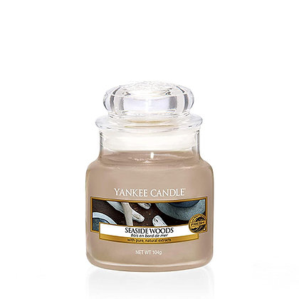 YANKEE CANDLE SEASIDE WOODS SMALL JAR CANDLE