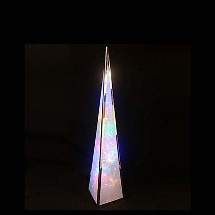 LUXA 45CM RAINBOW STARBURST PYRAMID