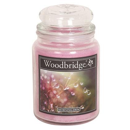 WOODBRIDGE MORNING DEW LARGE SCENTED CANDLE JAR