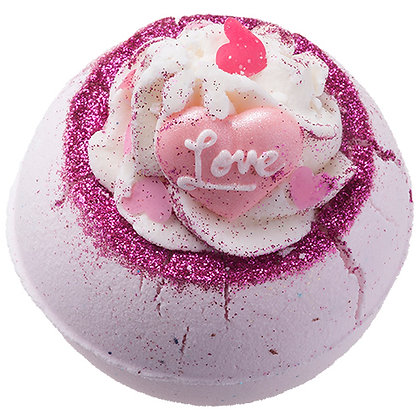 BOMB COSMETICS FELL IN LOVE WITH A SWIRL BATH BOMB