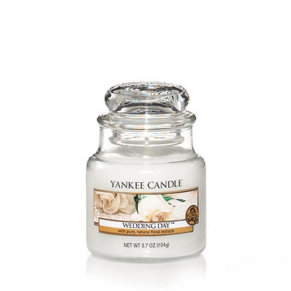 YANKEE CANDLE WEDDING DAY SMALL JAR CANDLE