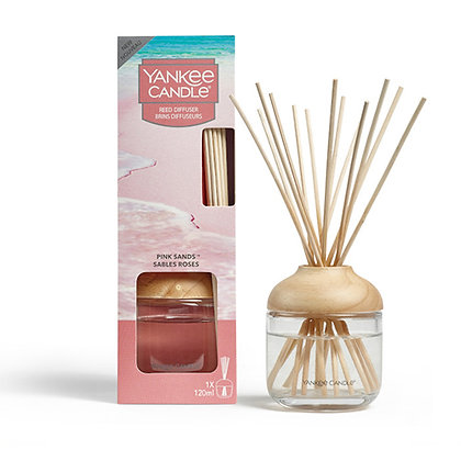 YANKEE CANDLE PINK SANDS SIGNATURE REED DIFFUSER
