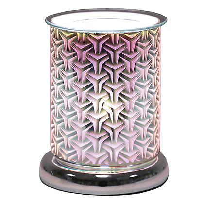 AROMA TRI STAR CYLINDER 3D ELECTRIC WAX MELT BURNER
