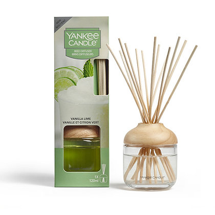 YANKEE CANDLE VANILLA LIME SIGNATURE REED DIFFUSER
