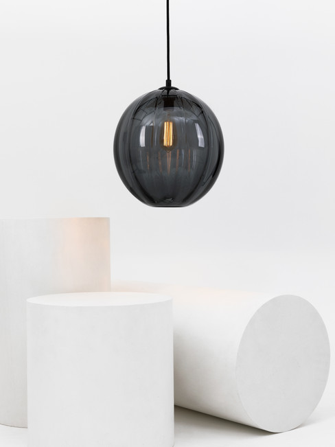 Large Modernist Oval Pendant