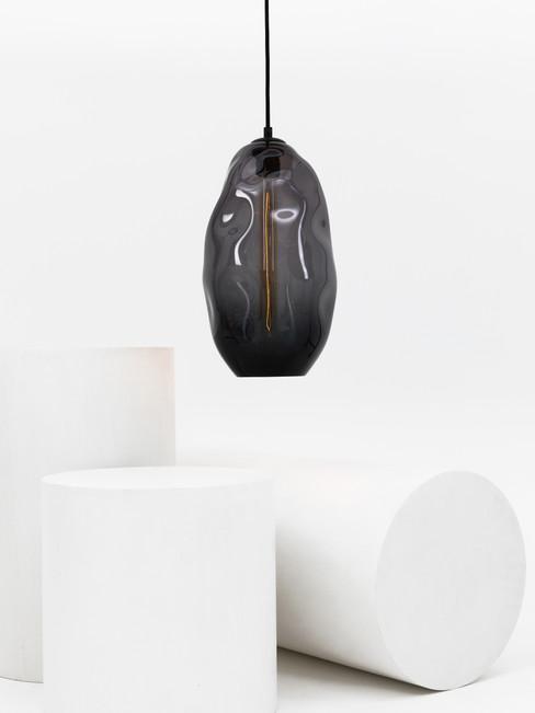 Extra Large Oval Pebble Pendant