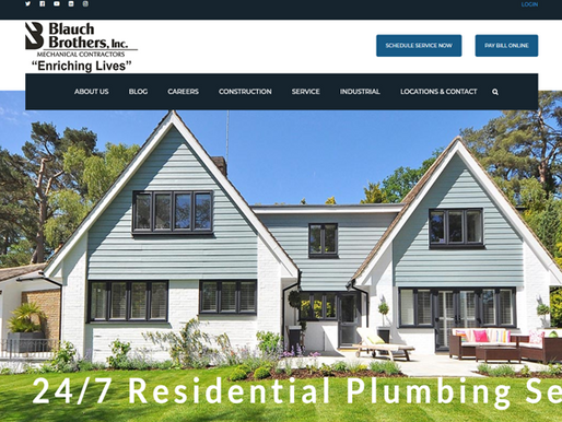 Blauch Brothers, Inc. New Website