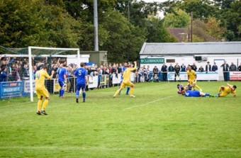FA Cup v Wealdstone 15/16