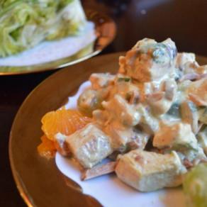 RECIPE: Green Chicken Curry Salad