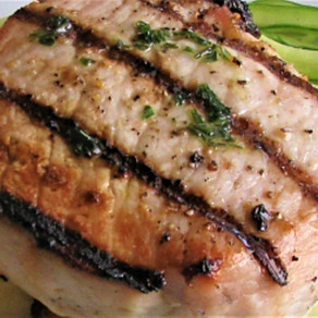 RECIPE: Grilled Pork Tenderloin with Swiss Chard and Apple