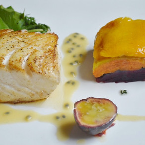 RECIPE: Sea Bass with Marsala & Passion Fruit Beurre Blanc