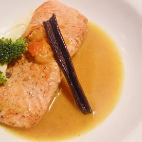 RECIPE: Wine & Herb Poached Salmon